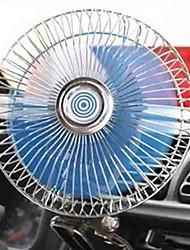 Недорогие -6-дюймовый автомобильный вентилятор с регулируемой скоростью вращения большой объем ветра малошумный вентилятор 12 / 24v