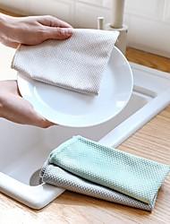 tanie -Kuchnia Środki czystości Włókno bambusowe Szczotka i ścierka do czyszczenia Univerzál 3 szt.