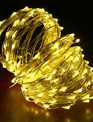 billige -20m Lysslynger 200 LED Varm hvit / RGB / Hvit Kreativ / Kuttbar / Fest 12 V 1pc