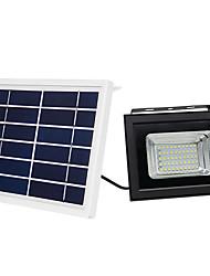 billige -1pc 10 W LED-lyskastere Solar Varm hvit / Kjølig hvit 3.7 V Utendørsbelysning 50 LED perler