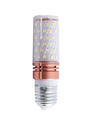 billige -6 W LED-kolbepærer 600 lm E26 / E27 T 84 LED Perler SMD 2835 Varm hvid Kold hvid Hvid 110-240 V, 1pc