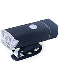 Недорогие -Светодиодная лампа Велосипедные фары Передняя фара для велосипеда Фары для велосипеда XP-G2 Горные велосипеды Велоспорт Водонепроницаемый Портативные Простота установки Литий-полимерная USB 380 lm