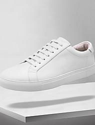 hesapli -Erkek Ayakkabı Mikrofiber İlkbahar yaz Günlük Spor Ayakkabısı Yürüyüş Günlük için Beyaz