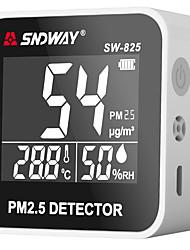 voordelige -Sw-825 digitale luchtkwaliteit monitor pm2.5 detector tester gas monitor gas analyzer temperatuur vochtigheidsmeter diagnostic tool
