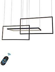 Недорогие -люстра из алюминия / новинка современные светильники для магазина освещения кафе-бар гостиная / теплый белый / белый / с возможностью затемнения с пультом дистанционного управления / Wi-Fi
