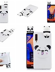 halpa -Etui Käyttötarkoitus Samsung Galaxy A7 (2018) / A6 (2018) Kuvio Takakuori Eläin / Piirretty Pehmeä TPU varten A6 (2018) / A6+ (2018) / Galaxy A7(2018)