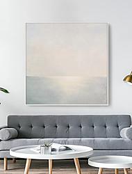 Недорогие -Холст в раме С принтом - Пейзаж Полистирен Масляные картины Предметы искусства