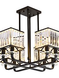 Недорогие -8-Light Спутник / промышленные Люстры и лампы Потолочный светильник Окрашенные отделки Металл 110-120Вольт / 220-240Вольт Теплый белый / Белый