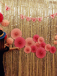 お買い得  -ウェディングベル用ユニークデコレーション プラスチック 結婚式の装飾 クリスマス / イベント/パーティー ロマンティック / 結婚式 オールシーズン