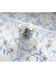 baratos -Tule Floral Bordado 130 cm largura tecido para Casamento vendido pelo 0,45 m