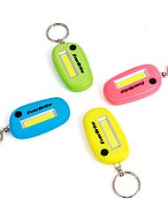 Недорогие -новинка светодиодный брелок фонарик комплект 3-режимный мини ультра яркий брелок для ключей фонарик батареи включены разные цвета