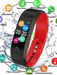Недорогие -Indear F6 Мужчины Умный браслет Android iOS Bluetooth Smart Спорт Водонепроницаемый Пульсомер Измерение кровяного давления / Датчик для отслеживания активности / Датчик для отслеживания сна