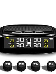 Недорогие -монитор давления в шинах автомобиля tpms, беспроводная сигнализация контроля давления в шинах, цветной жк-дисплей с 4 внешними датчиками