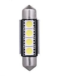 Недорогие -1 шт. Автомобиль Лампы 4 Светодиодная лампа Подсветка для номерного знака / Предупреждающие огни Назначение Acura / Citroen / Opel Yukon XL / Hombre / Mountaineer Все года