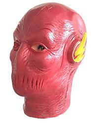 preiswerte -Superheld Cosplay Kostüme Erwachsene Herrn Cosplay Halloween Halloween Karneval Maskerade Fest / Feiertage Kleben Rote Karneval Kostüme Solide