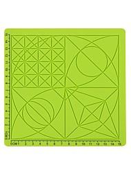 ieftine -c deget set de culori aleatoare 3d stilou de imprimare silicon design pad 3d imprimare stilou de pictură geometrie panou stereo pictura accesorii stilou
