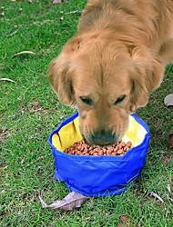 abordables -1 L Perros Cuencos y Botellas de Agua Mascotas Cuencos y Alimentación Impermeable Azul