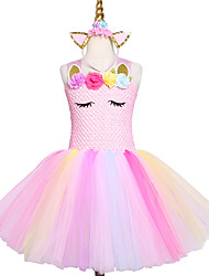 Недорогие -Розовая юбка ручной работы платье для девочки из принцессы из тюля
