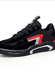 رخيصةأون -رجالي أحذية الراحة شبكة للربيع والصيف أحذية رياضية أسود