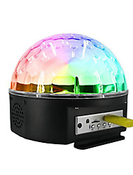 cheap -1 set Disco Ball Lamp Colorful AC Powered Bluetooth / Remote Controlled / Atmosphere Lamp 100-240 V