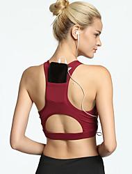 ราคาถูก -ชุดกีฬา เสื้อ / Yoga สำหรับผู้หญิง การฝึกอบรม / Performance ชุดชั้นในแบบChinlon / Elastane ขวิด เสื้อไม่มีแขน Top / ชุดชั้นใน