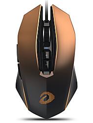 levne -dareu em925pro drátové usb optická herní myš vícebarevný podsvícený 600/1200/2400/3600/5400/7200/10800/12000 dpi 7 nastavitelná úroveň rozlišení 7 ks klíče