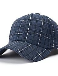 hesapli -Unisex Temel Baseball Şapkası Çizgili / Zıt Renkli