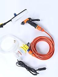 Недорогие -Портативный автомойка 12 В автомойка водяной насос многофункциональный микро автомойка машина высокого давления автомойка водяной пистолет