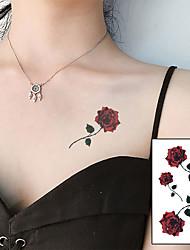 voordelige -10 pcs Tijdelijke tatoeages Waterbestendig / Beste kwaliteit handen / brachium / schouder Tatoeagestickers