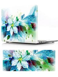 """voordelige -Gecombineerde bescherming Bloem PVC voor MacBook Air 13"""" / Nieuwe MacBook Pro 13"""" / New MacBook Air 13"""" 2018"""