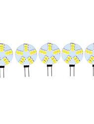 preiswerte -3 W LED Doppel-Pin Leuchten 290 lm G4 15 LED-Perlen SMD 5730 Dekorativ Warmes Weiß Kühles Weiß 12 V, 5 Stück