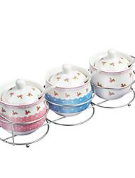billiga -Hög kvalitet med Keramisk Shakers och kvarnar / Förvarngslådor Till hemmet / Vardagsanvändning Kök Lagring 3 pcs