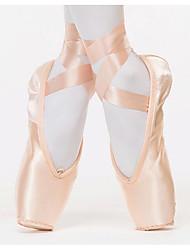 olcso -Női Balettcipők Szatén Lapostalpú Lapos Dance Shoes Rózsaszín