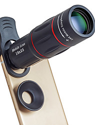 Недорогие -Объектив для мобильного телефона Длиннофокусный объектив стекло / Алюминиевый сплав 10Х и более 35 mm 3 m 9.6 ° Линза / объектив со стендом / Cool
