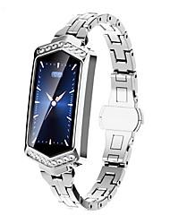 voordelige -B17 Dames Smart Armband Android iOS Bluetooth Sportief Hartslagmeter Bloeddrukmeting Aanraakscherm Informatie Timer Stopwatch Stappenteller Gespreksherinnering Activiteitentracker