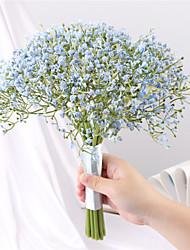 abordables -Fleurs artificielles 16.0 Une succursale Classique Européen Fleurs de mariage Gypsophila Fleurs éternelles Fleur de Table