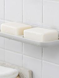 お買い得  -ソープディッシュ&ホルダー ノンテープ・タイプ プラスチック 1個 - 浴室 壁式