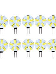 preiswerte -3 W LED Doppel-Pin Leuchten 290 lm G4 15 LED-Perlen SMD 5730 Dekorativ Warmes Weiß Kühles Weiß 12 V, 10 Stück
