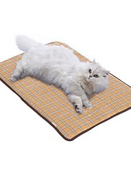 hesapli -Taşınabilir / Katlanabilir / Yıkanabilir Köpek Giysileri Araba Koltuğu Kılıfı Solid / Geometrik / Kareli Açık Mavi Köpekler / Kediler / Tüylü Küçük Hayvanlar