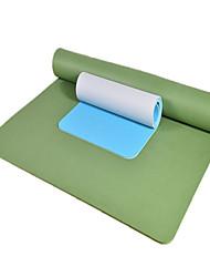 Недорогие -Коврик для йоги Мягкость, Эластичный, Липкий TPE Для Армейскийзеленый