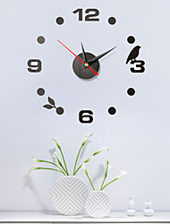 hesapli -diy duvar clockeuropean plastik akrilik düzensiz kapalı