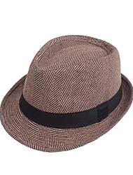 お買い得  -コットン / ポリエステル / ポリ / コットン混 帽子 とともに キャップ 1個 カジュアル / デイリーウェア かぶと