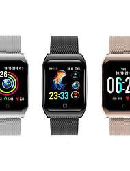 Недорогие -F9 Smart Watch BT нержавеющая сталь фитнес-трекер поддержка уведомлений / пульсометр спортивные умные часы, совместимые с телефонами Apple / Samsung / Android