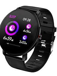Недорогие -K9 Smart Watch BT Поддержка фитнес-трекер уведомления и пульсометр полный круглый экран SmartWatch для мобильных телефонов Android и Iphone