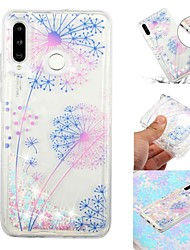 baratos -Capinha Para Samsung Galaxy Galaxy M20(2019) / Galaxy M30(2019) Liquido Flutuante / Transparente / Estampada Capa traseira Desenho Animado Macia TPU para Galaxy M10 (2019) / Galaxy M20(2019) / Galaxy