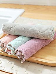 billige -4pc superabsorberende mikrofiber køkkenret klud høj effektivitet bordservice husholdnings rengøring håndklæde køkkenredskaber gadgets