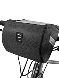 Недорогие -ROSWHEEL Сотовый телефон сумка Бардачок на руль 6.2 дюймовый Сенсорный экран Водонепроницаемость Велоспорт для iPhone 8 Plus / 7 Plus / 6S Plus / 6 Plus iPhone X Черный