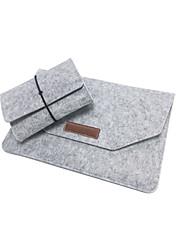 Недорогие -фетровая сумка для ноутбука для ноутбука 11/12/13/15 дюймов плюс блок питания