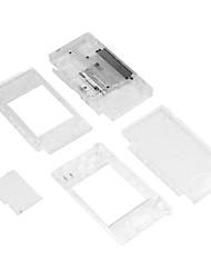 Недорогие -объектив экрана оболочки кристально чистый полный корпус чехол для Nintend DS Lite