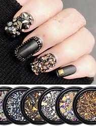 Недорогие -1 pcs Специальный дизайн Синтетические драгоценные камни Стразы для ногтей Кристаллы Назначение Маникюр Мода Урожай Theme маникюр Маникюр педикюр Повседневные Панк / Мода